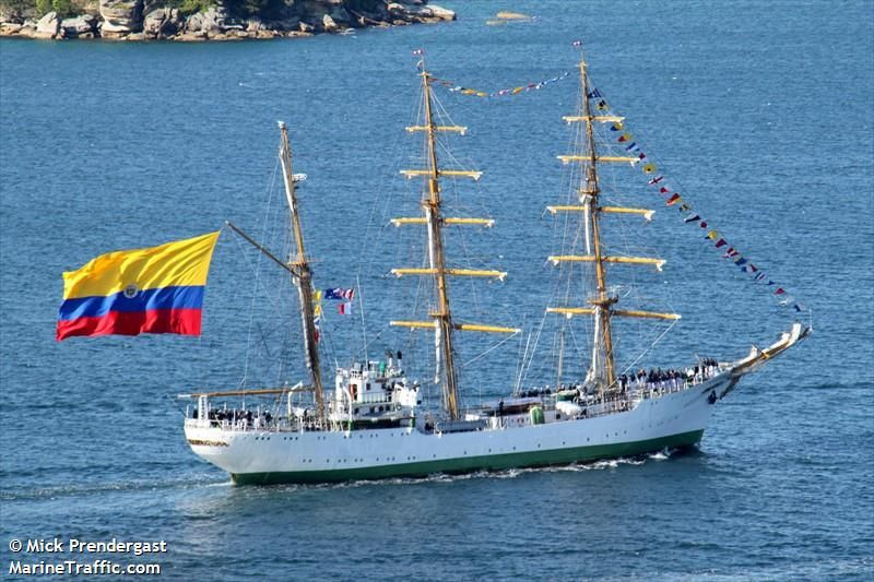 Ship honors Colombia's ties to S.C.
