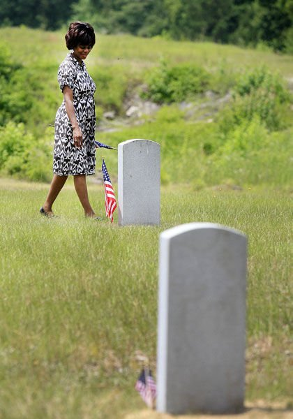 Honoring forgotten WWI vets: VA headstones procured for 12 at Childs Cemetery