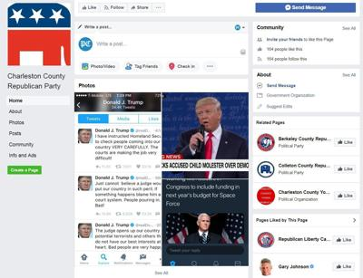 Fake CHS GOP page