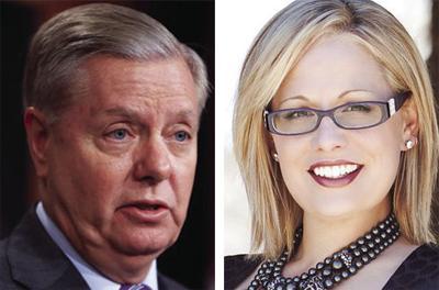 Sen. Lindsey Graham and Sen. Kyrsten Sinema