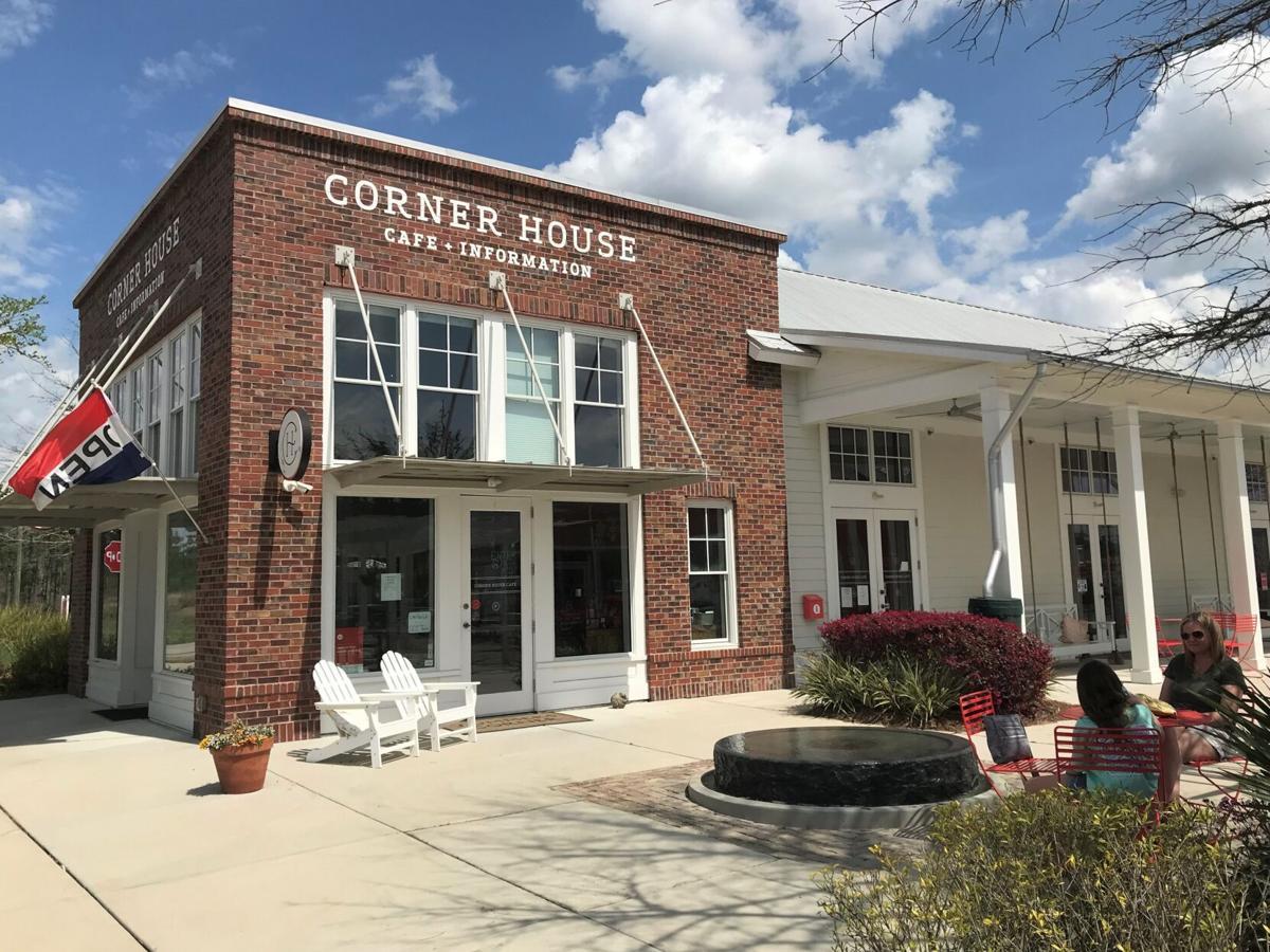 Corner House Cafe in Summers Corner