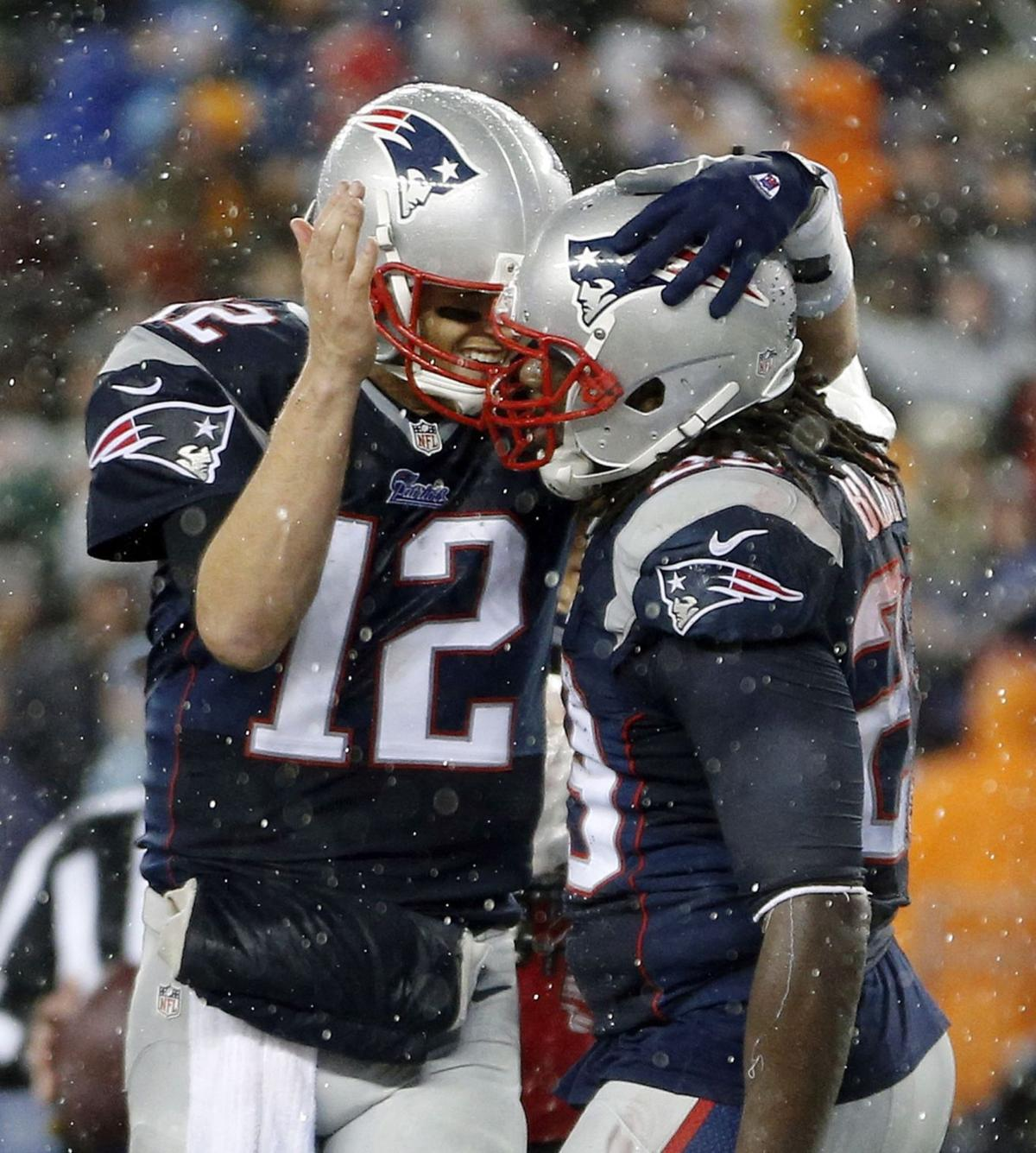 Patriots roll to AFC title