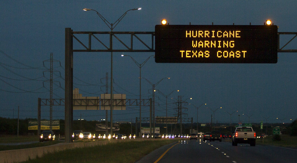 Hurricane Harvey is rerouting cruise ships