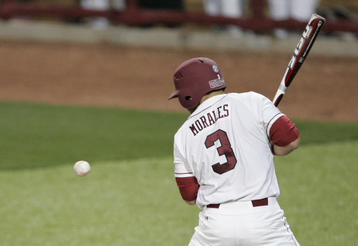 Hit by pitch a significant factor when South Carolina meets Maryland in NCAA Columbia Regional