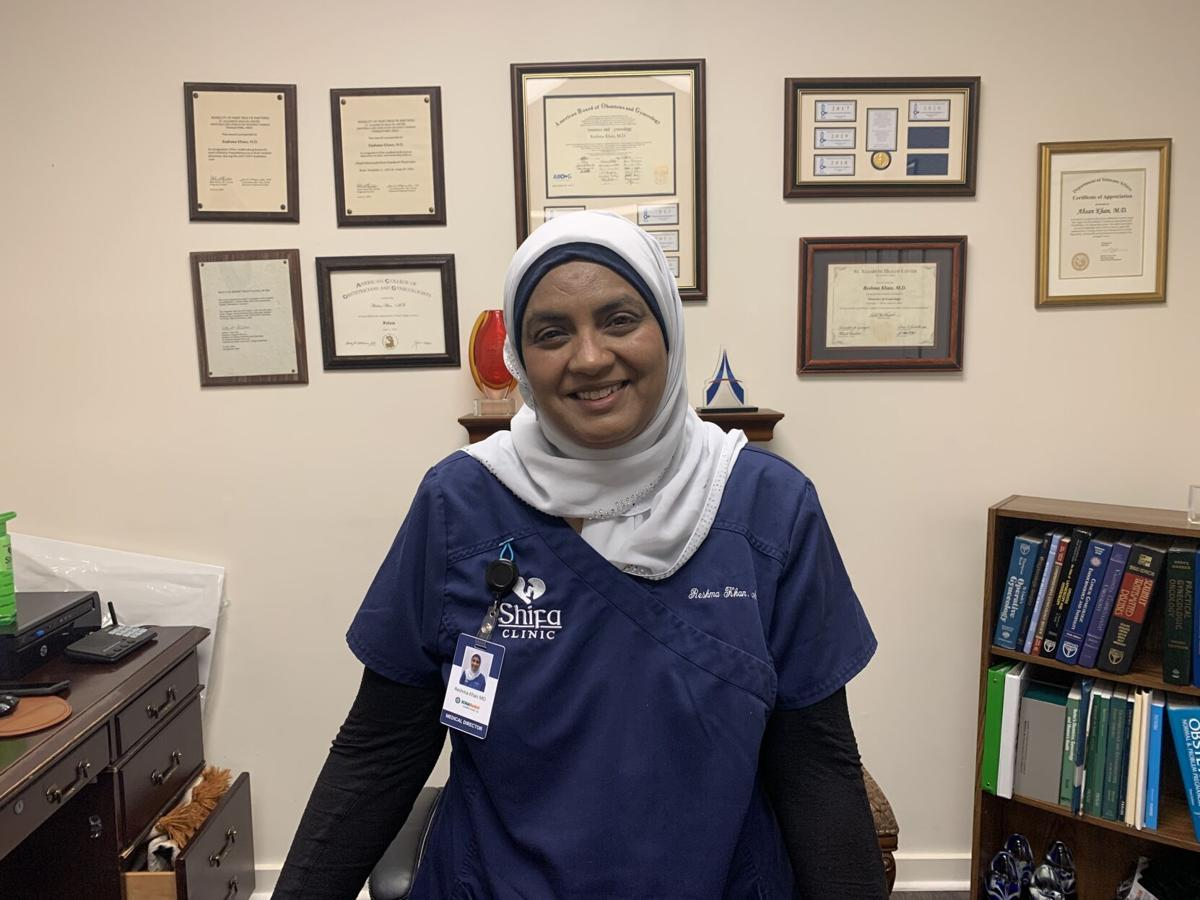 Dr. Khan with the Shifa Clinic
