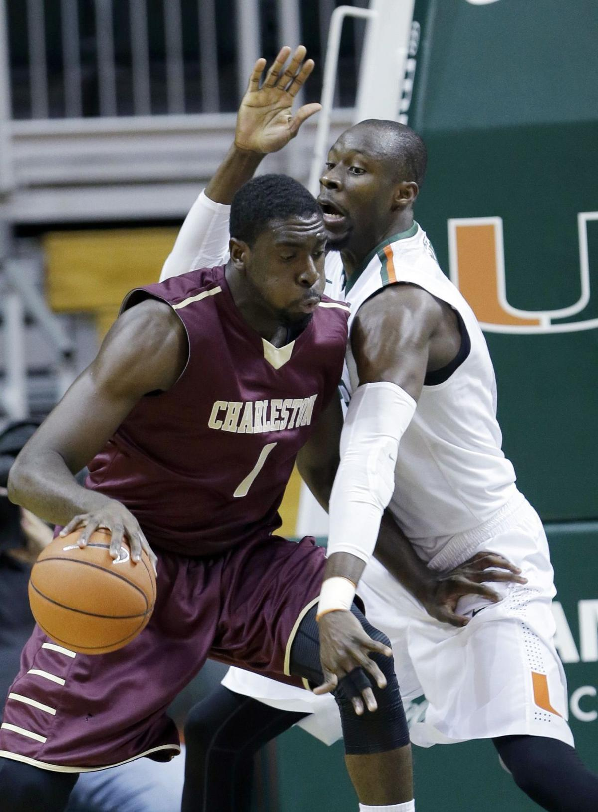 College of Charleston's Baru embraces extra attention