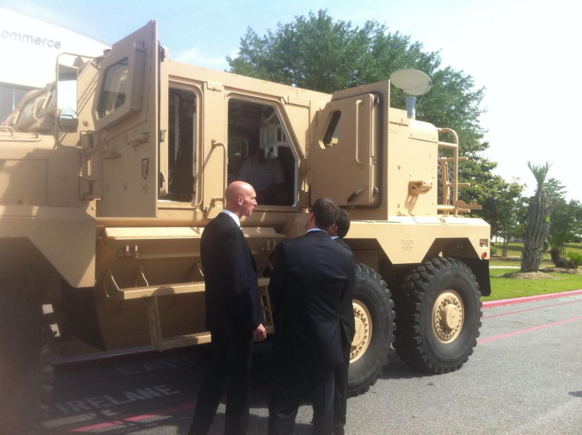 Local steel firm to build MRAPs, sell them to General Dynamics