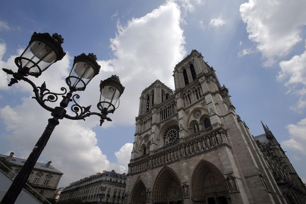 Pipe organ 'a whole new world' Musician carries on history at Paris' Cathedral of Notre Dame