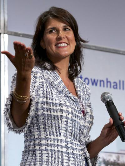 Haley campaign launches merchandise page