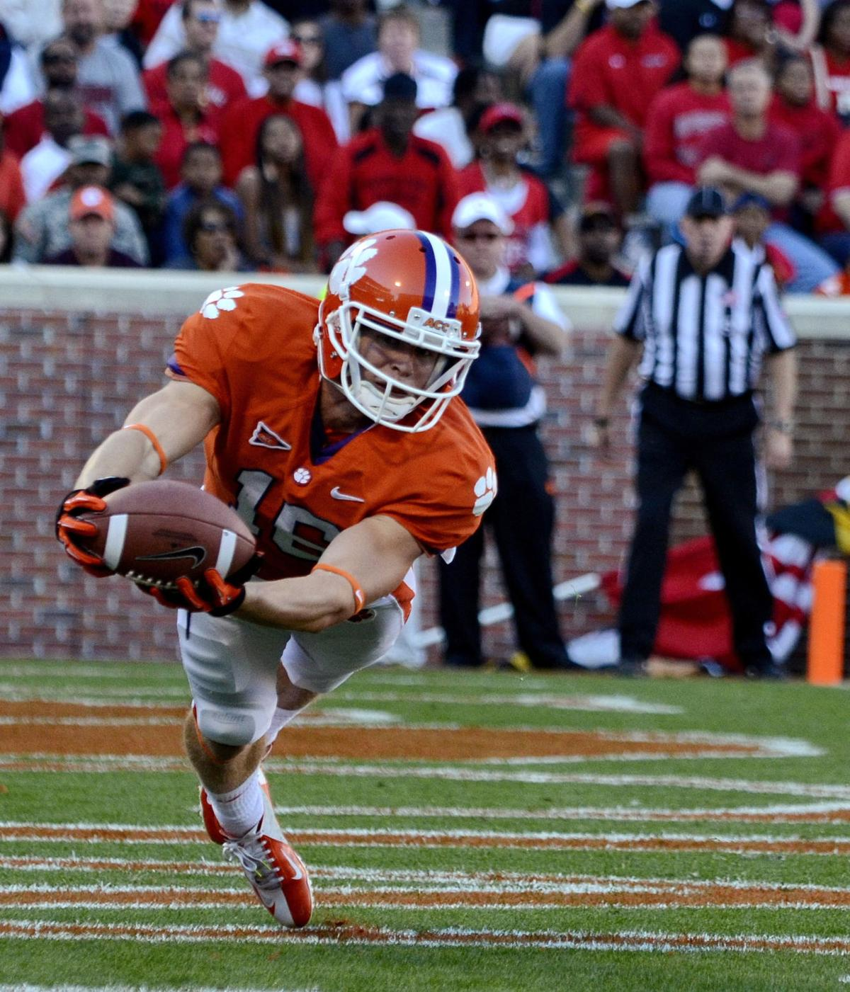 Clemson's Humphries on top of his game