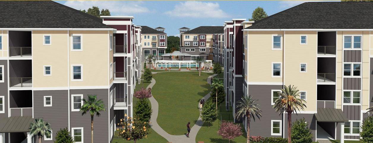 Lively Indigo Run Apartments North Charleston Rendering