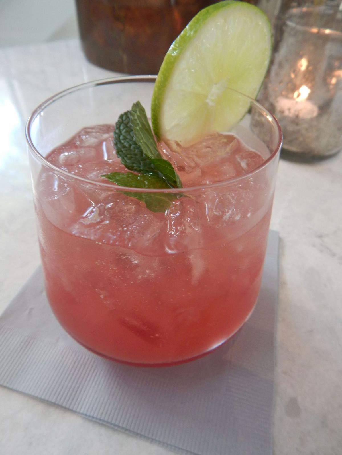 Cannon Green mixologist concocts refreshing watermelon cocktail with a kick