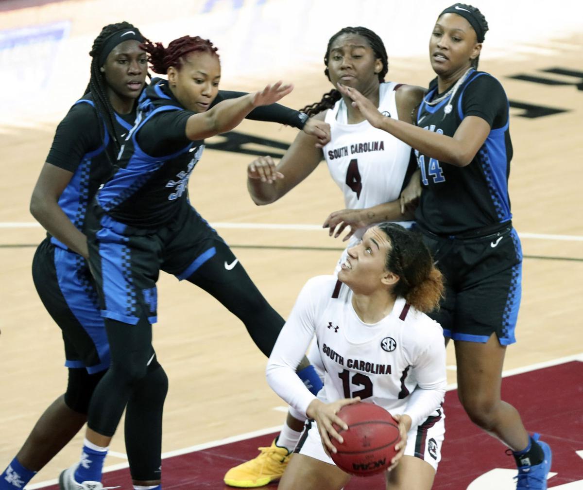 Fourth Ranked Gamecock Women Crush No 13 Kentucky In Sec