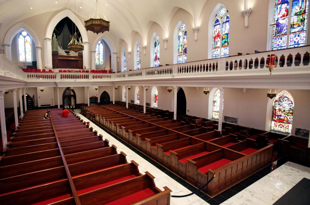 St. Matthew's reopens historic church building