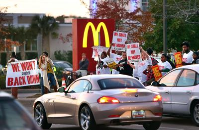 Protest for $15 Wage (copy)