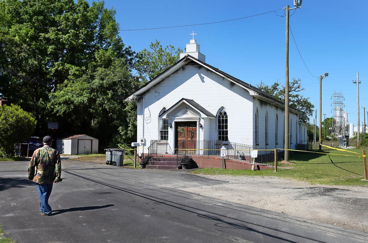 day after noahs ark bapt church fire.jpg