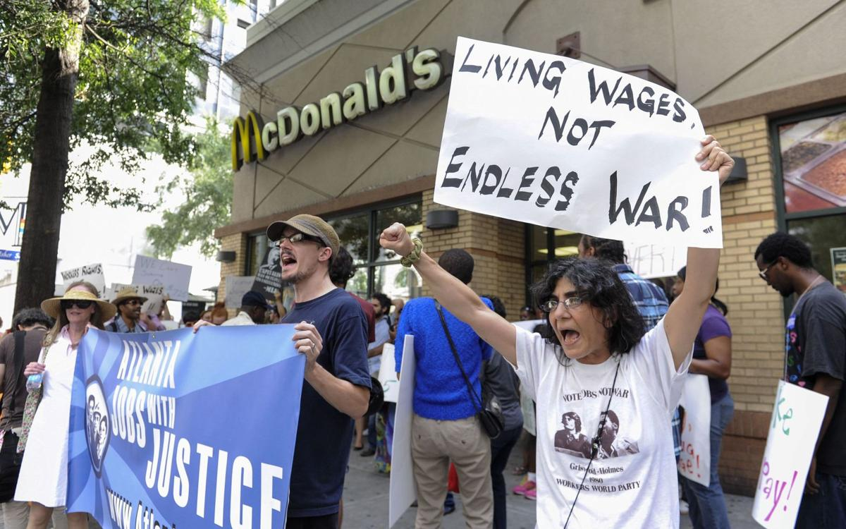 Labor plans fast-food protests for US, overseas