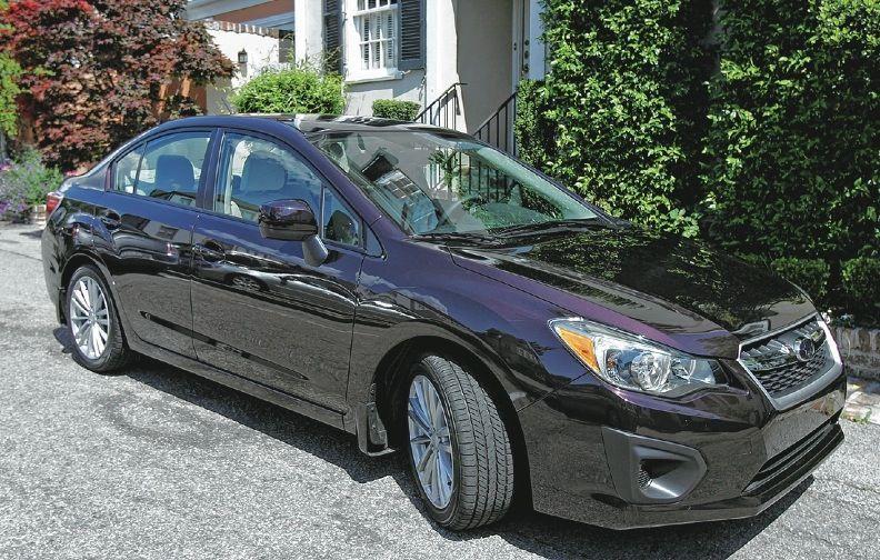 Imprez-ive: New-look Subaru sedan and hatchback gains inside perks, transmission that packs a wallop