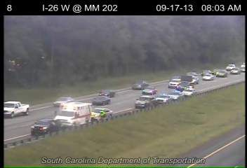 Wreck cleared from I-26 eastbound near College Park Road exit