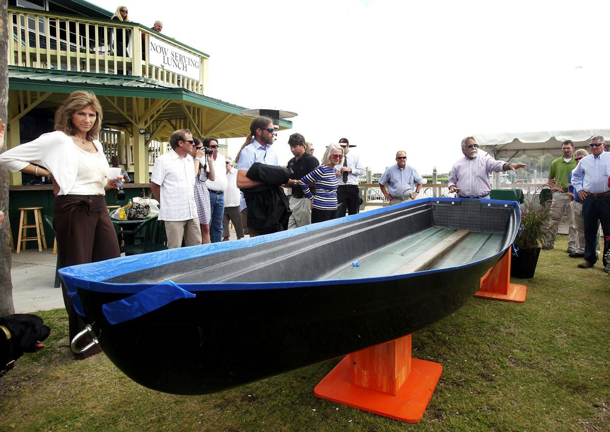 Hope Afloat Firm S Recycled Carbon Fiber Used In Boat Hull