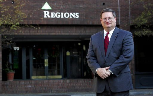 Regions Bank unveils its new look