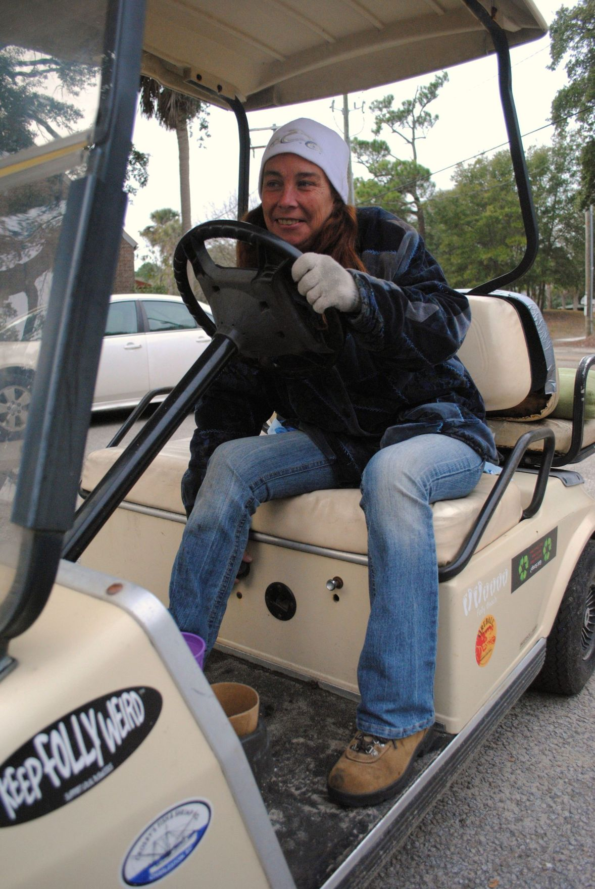 Golf carts better than cars for island life, residents say