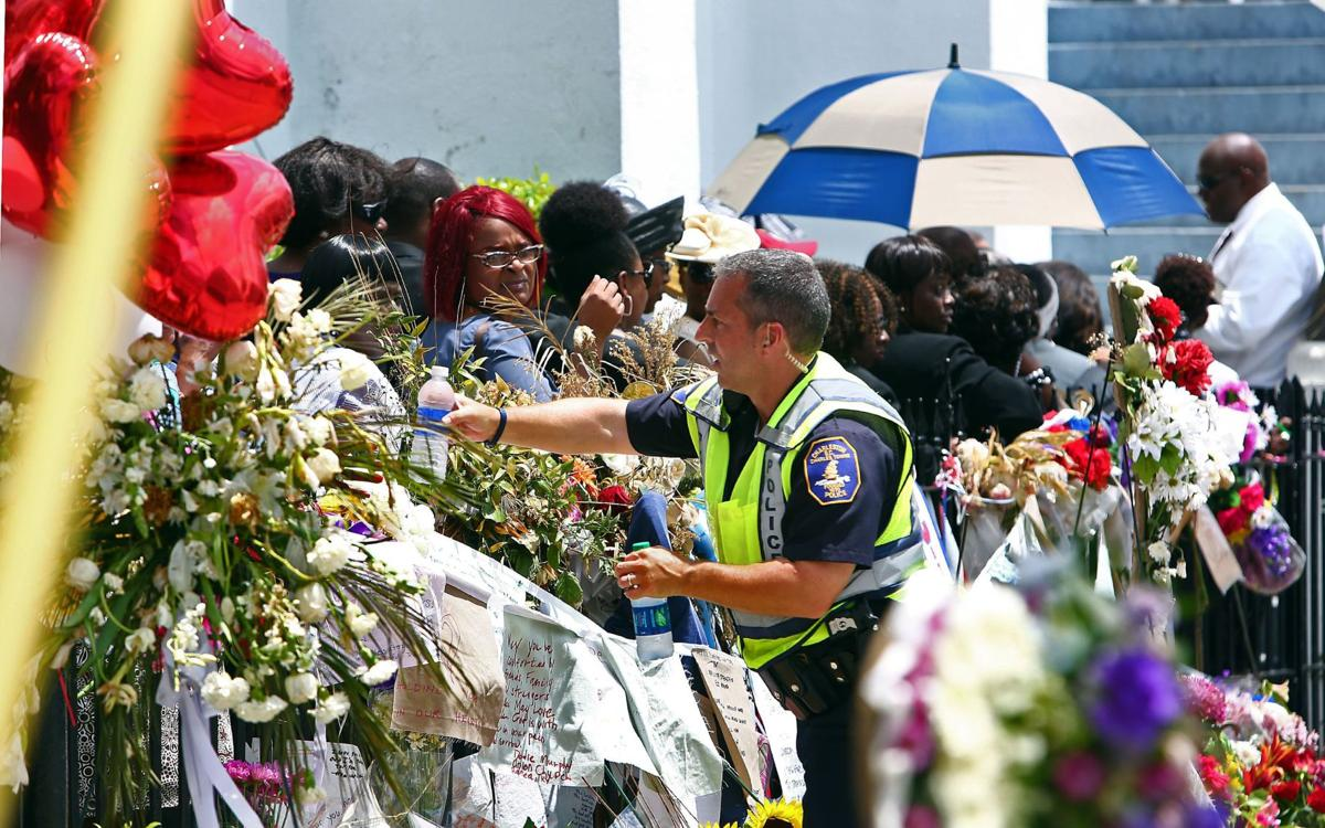61,000 bottles of water distributed by Red Cross following Emanuel AME shooting 'symbolic of hope'