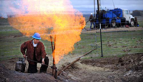 Tribes look for black gold
