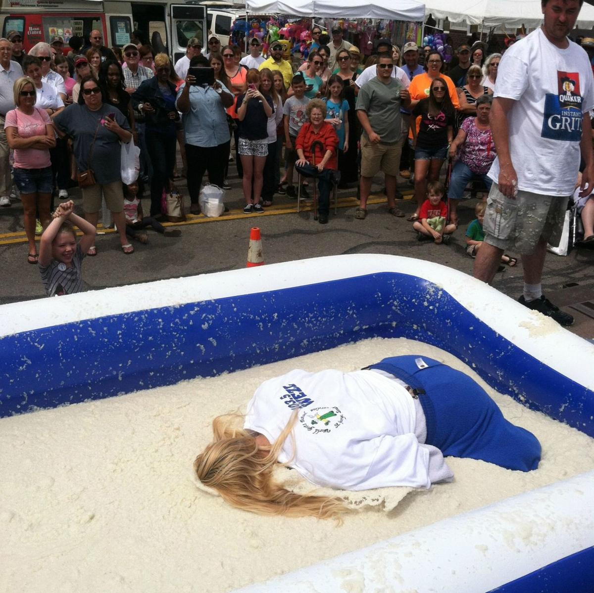 Grits rolling record set at World Grits Festival