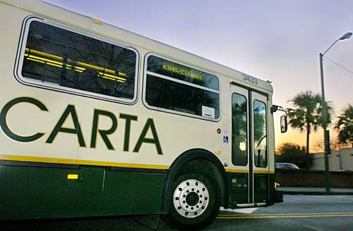Bus riders air route concerns