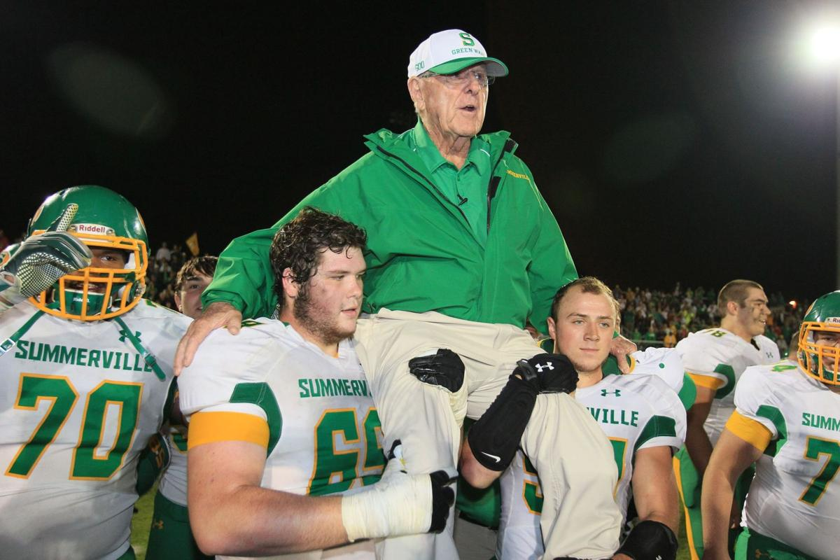 Summerville coach of 63 years, John McKissick considering retirement