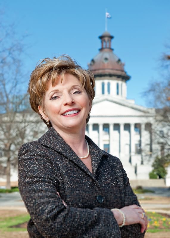SC's lone female senator, in response to sexist joke, tells women to 'step up and lead'