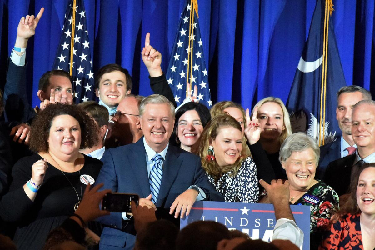 APTOPIX Election 2020 Senate Graham