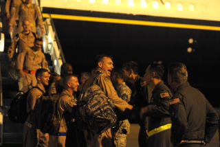 Airmen from Charleston return from Mideast