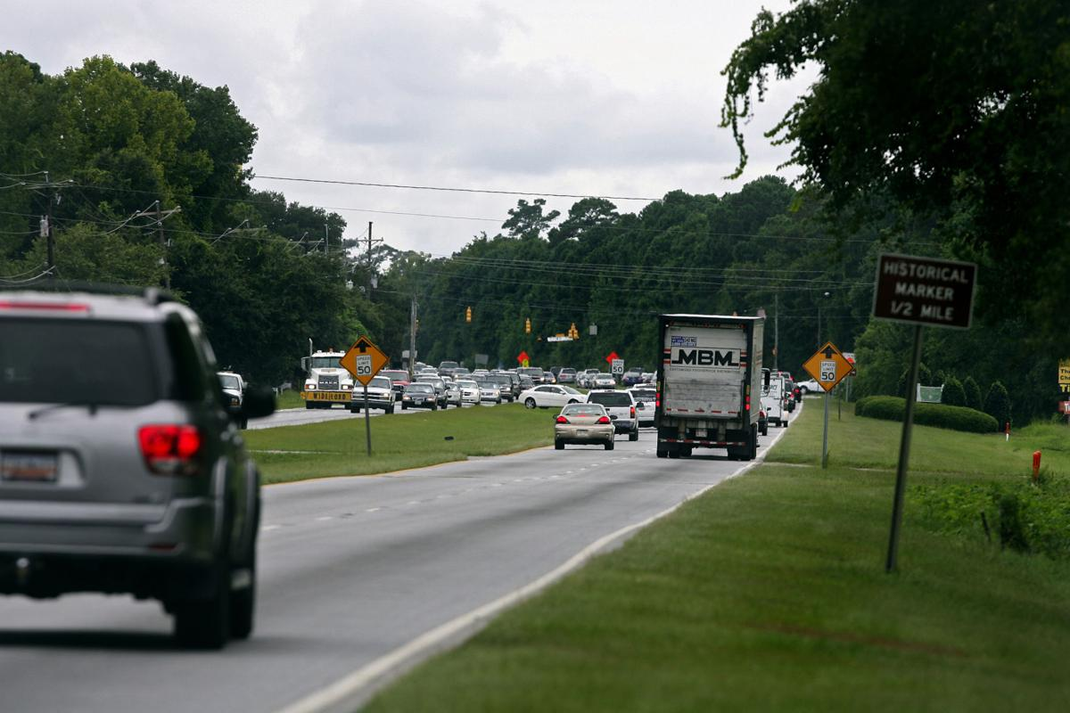 U.S. Highway 17 getting bike lanes near Awendaw