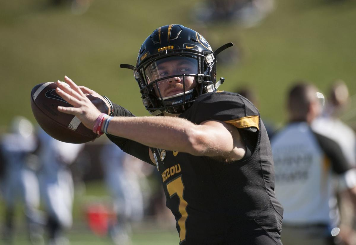 Missouri QB Mauk suspended for Saturday's game against South Carolina