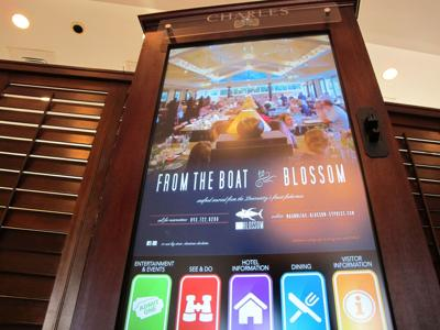 Cluttered brochure racks being replaced by interactive kiosks for tourists