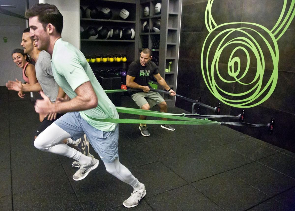 Trim gyms turn fitness fans into business owners