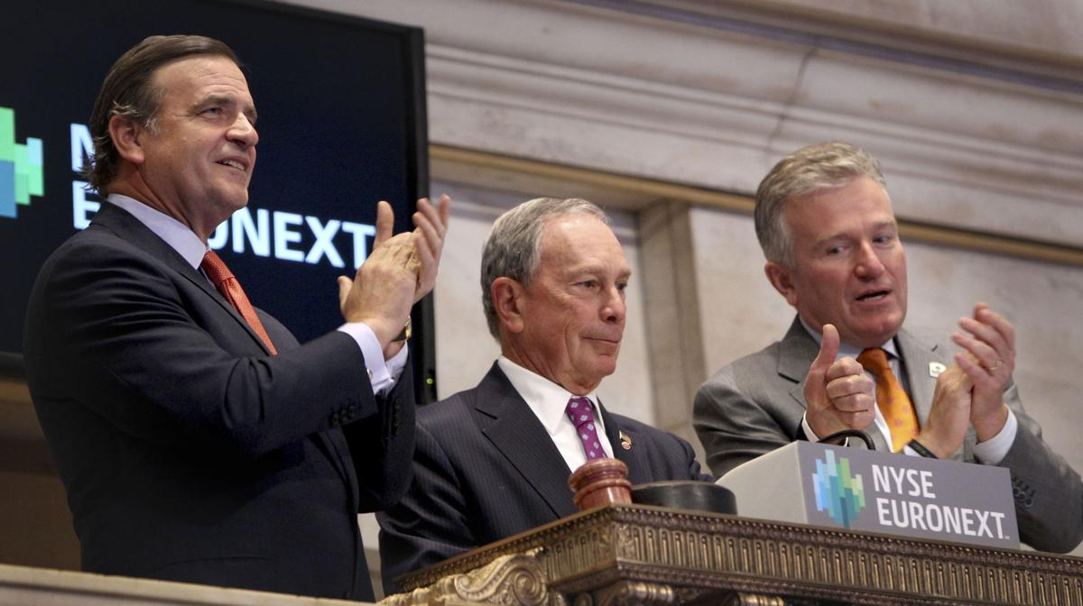 Wall Street back in business