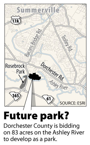 Dorchester looks to buy tract for park