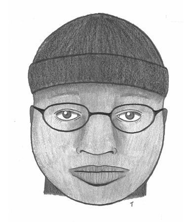 Charleston police release sketch of man accused of groping woman