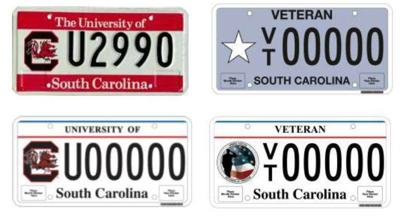 SC DMV begins issuing new license plates; lawmakers get 1st