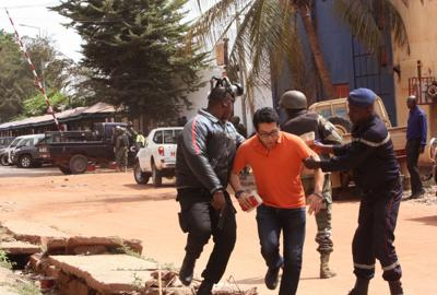 Hotel attack in Mali's capital leaves at least 27 dead