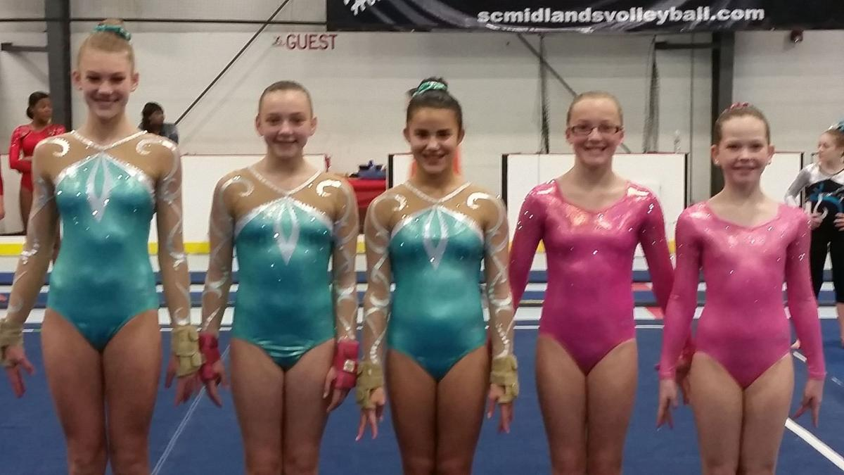 Summerville gymnasts medal in Carolina Classic