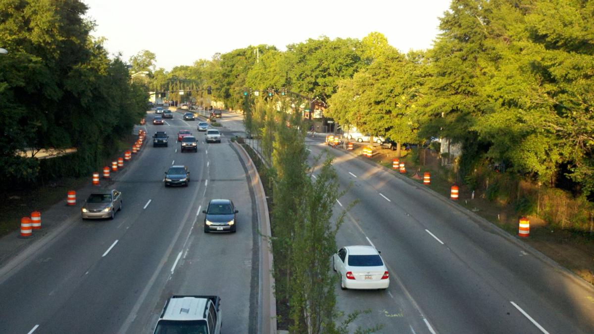 Crosstown lanes reopen, ease early morning traffic