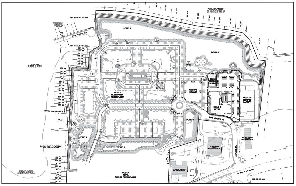 Indigo Square Site Plan Postandcouriercom