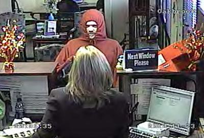 Police Seek Information On Bank Robbery Suspect