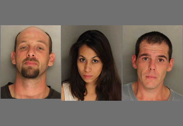 Three arrested in meth bust in Berkeley County