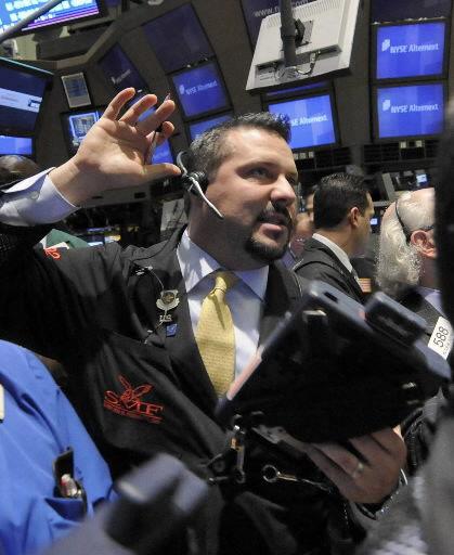 Stocks rally; Dow up 553
