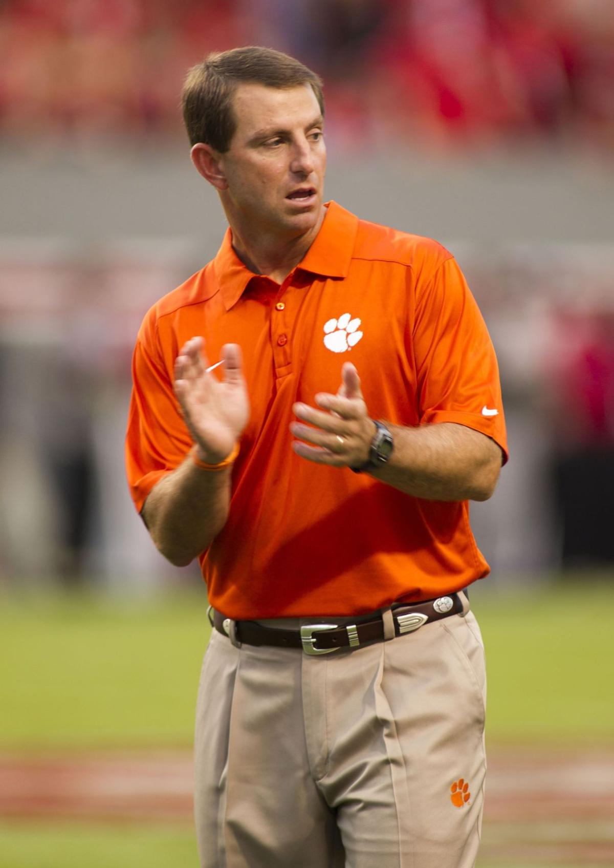'Do the right thing' Clemson's message